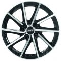 Alutec Singa 6x15 4x100 ET39 56,6 Diamond Black Front Polished